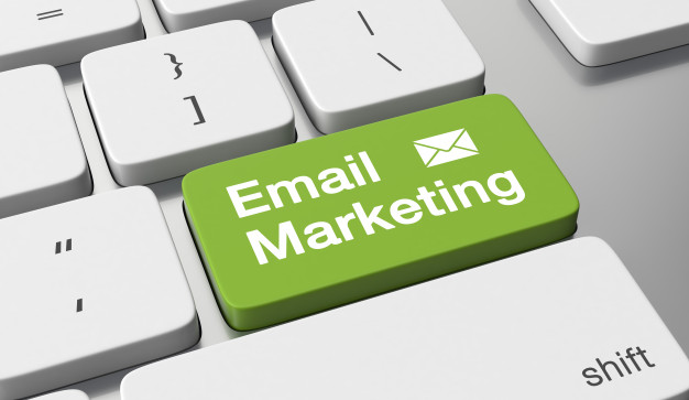 teclado boton email marketing